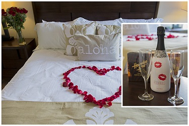 Romance package offered by Coconut Condos Vacation Rentals