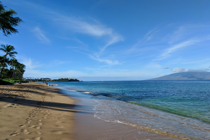 Kaanapali Beach, Maui, Hawaii.